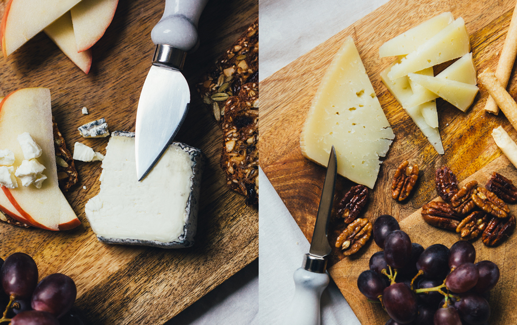 Canadian Cheese Board | Grey Owl and Tania Toscana