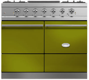 "40"" Lacanche Moderne Cluny range - Olive Green color"