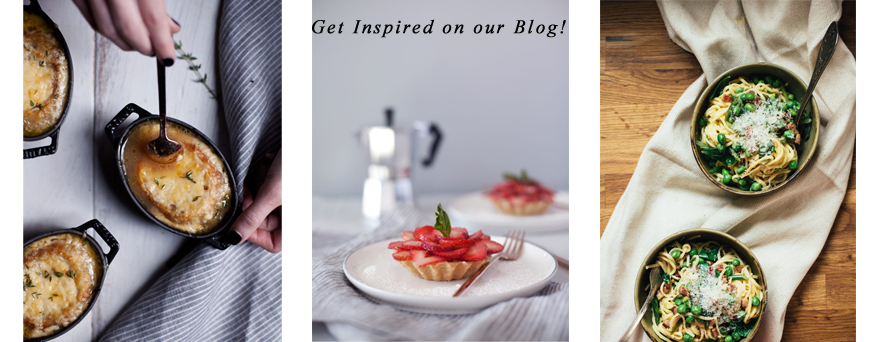 Visit our Blog for recipes ideas