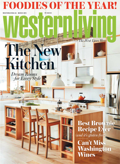 Western Living March 2014